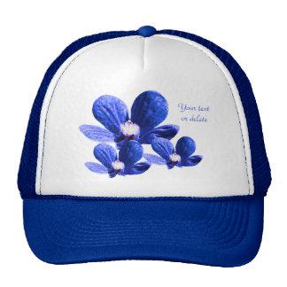 Pattern of Blue Flowers Trucker Hat