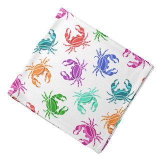 Pattern Of Crabs Bandanas