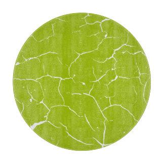 Pattern of cracks cutting board