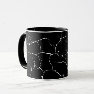 Pattern of cracks mug