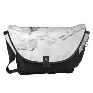 Pattern Of Ice #3 Messenger Bag