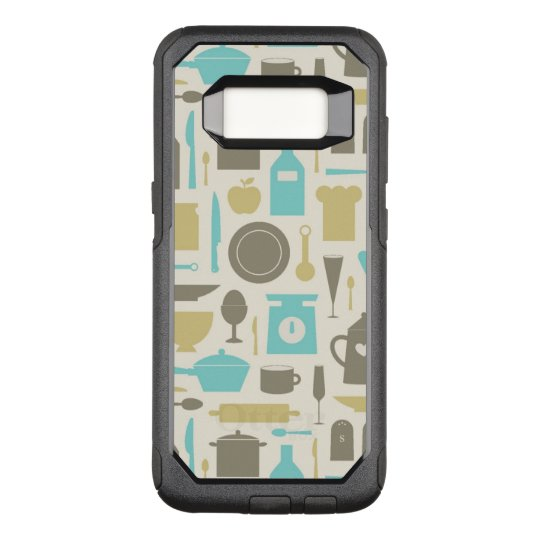 Pattern Of Kitchen Tools OtterBox Commuter Samsung Galaxy S8 Case