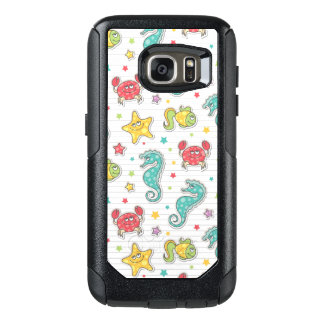 pattern of sea creatures OtterBox samsung galaxy s7 case