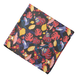 Pattern Of The Lovers Frogs Bandana