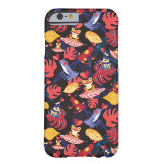 Pattern Of The Lovers Frogs Barely There iPhone 6 Case