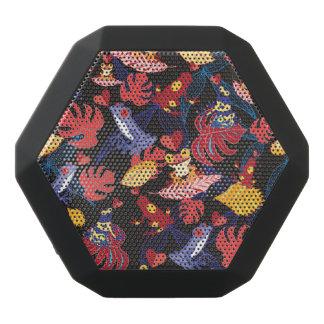 Pattern Of The Lovers Frogs Black Bluetooth Speaker