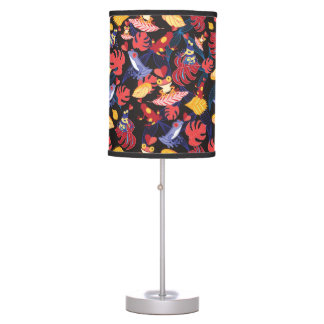 Pattern Of The Lovers Frogs Desk Lamp