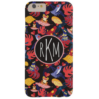 Pattern Of The Lovers Frogs | Monogram Barely There iPhone 6 Plus Case