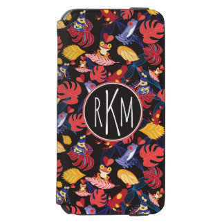 Pattern Of The Lovers Frogs | Monogram Incipio Watson™ iPhone 6 Wallet Case