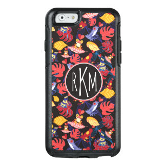 Pattern Of The Lovers Frogs | Monogram OtterBox iPhone 6/6s Case