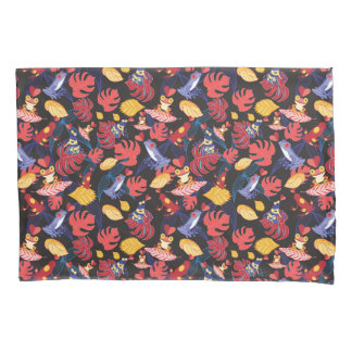 Pattern Of The Lovers Frogs Pillowcase