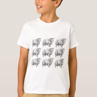 pattern of the old ram T-Shirt