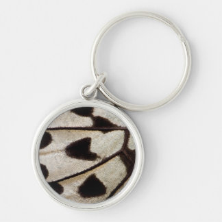 Pattern of Tropical Butterfly Keychain