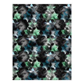 pattern P Letterhead