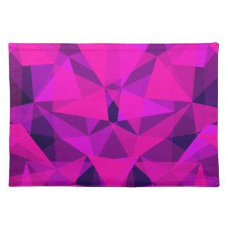 pattern pink placemat