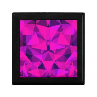 pattern pink trinket boxes