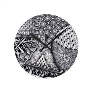 pattern play round clock