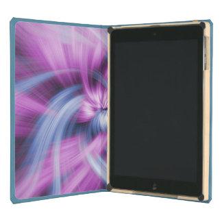 Pattern Purple Pink Blue Paint Splatter Design Art iPad Air Case