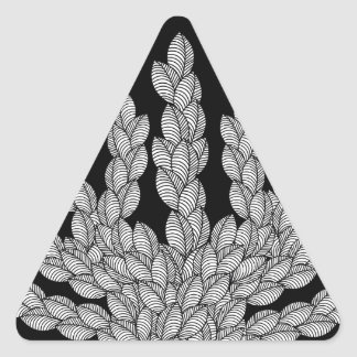 Pattern R Triangle Sticker