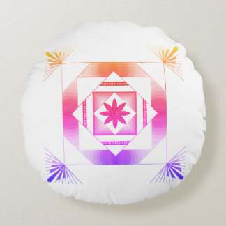 Pattern Round Pillow
