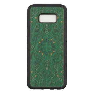 Pattern Samsung Galaxy S8+ Slim Cherry Wood Case