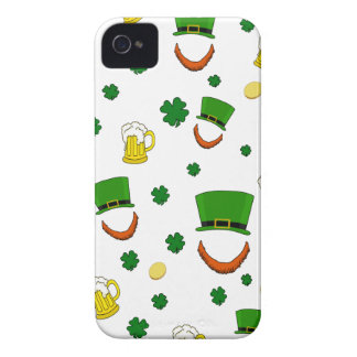 Pattern - St. Patrick's day iPhone 4 Case-Mate Cases