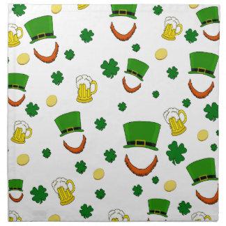 Pattern - St. Patrick's day Napkin