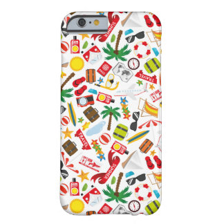 Pattern Summer holiday travel south sea Barely There iPhone 6 Case