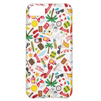Pattern Summer holiday travel south sea Case For iPhone 5C