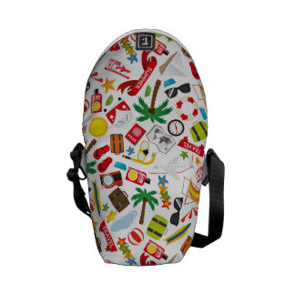 Pattern Summer holiday travel south sea Commuter Bags