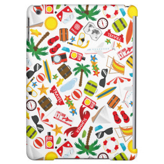 Pattern Summer holiday travel south sea Cover For iPad Air