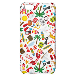 Pattern Summer holiday travel south sea Cover For iPhone 5C