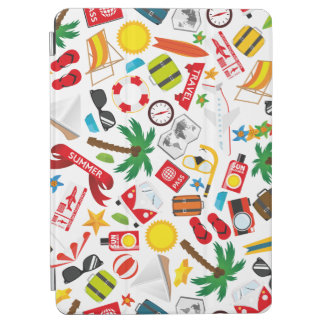Pattern Summer holiday travel south sea iPad Air Cover