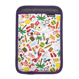 Pattern Summer holiday travel south sea iPad Mini Sleeve