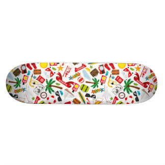 Pattern Summer holiday travel south sea Skate Board Decks