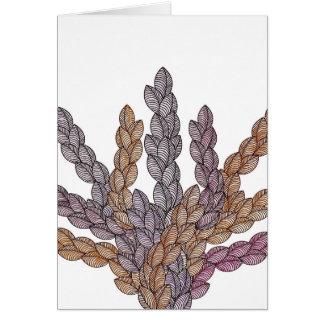 Pattern T Card