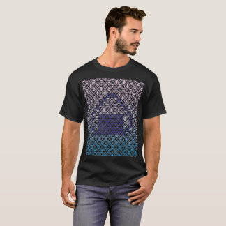 Pattern T shirt (rice ball gradation)