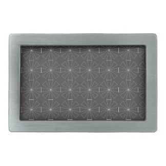 pattern texture beautiful art sweet simple love rectangular belt buckles