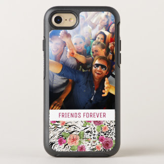 Pattern With Animal Prints | Add Your Photo & Text OtterBox Symmetry iPhone 8/7 Case