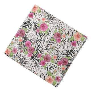 Pattern With Animal Prints Kerchief