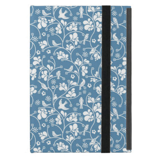 pattern with birds and plants ornament iPad mini covers