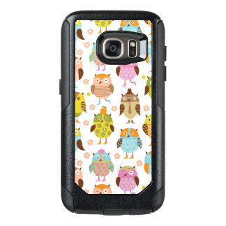 pattern with birds OtterBox samsung galaxy s7 case