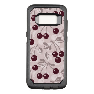 Pattern with Cherries 2 OtterBox Commuter Samsung Galaxy S8 Case