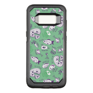 Pattern with Food OtterBox Commuter Samsung Galaxy S8 Case