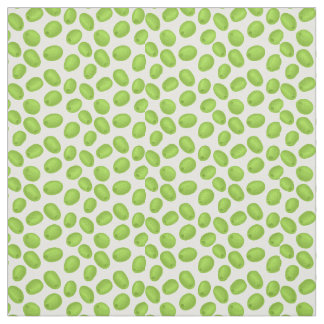 Pattern with  green olives fabric