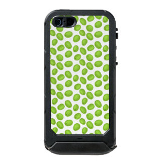 Pattern with  green olives incipio ATLAS ID™ iPhone 5 case