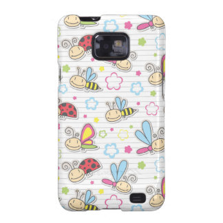 pattern with insects galaxy s2 cases