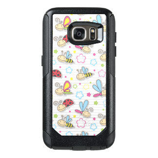 pattern with insects OtterBox samsung galaxy s7 case