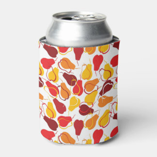Pattern with pears can cooler