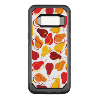 Pattern with pears OtterBox commuter samsung galaxy s8 case